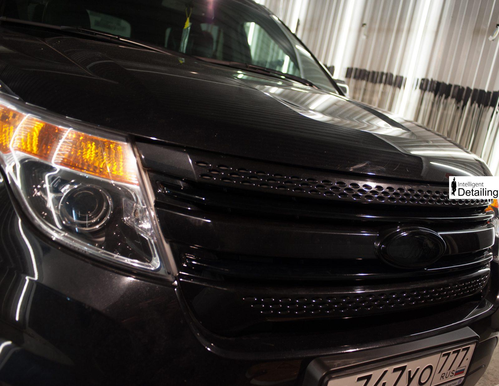 Ford Explorer антихром