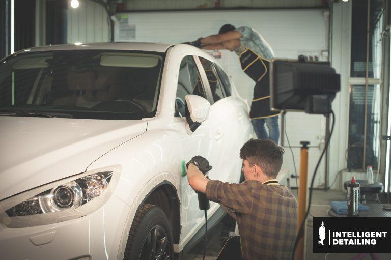Mazda ASX полировка кузова