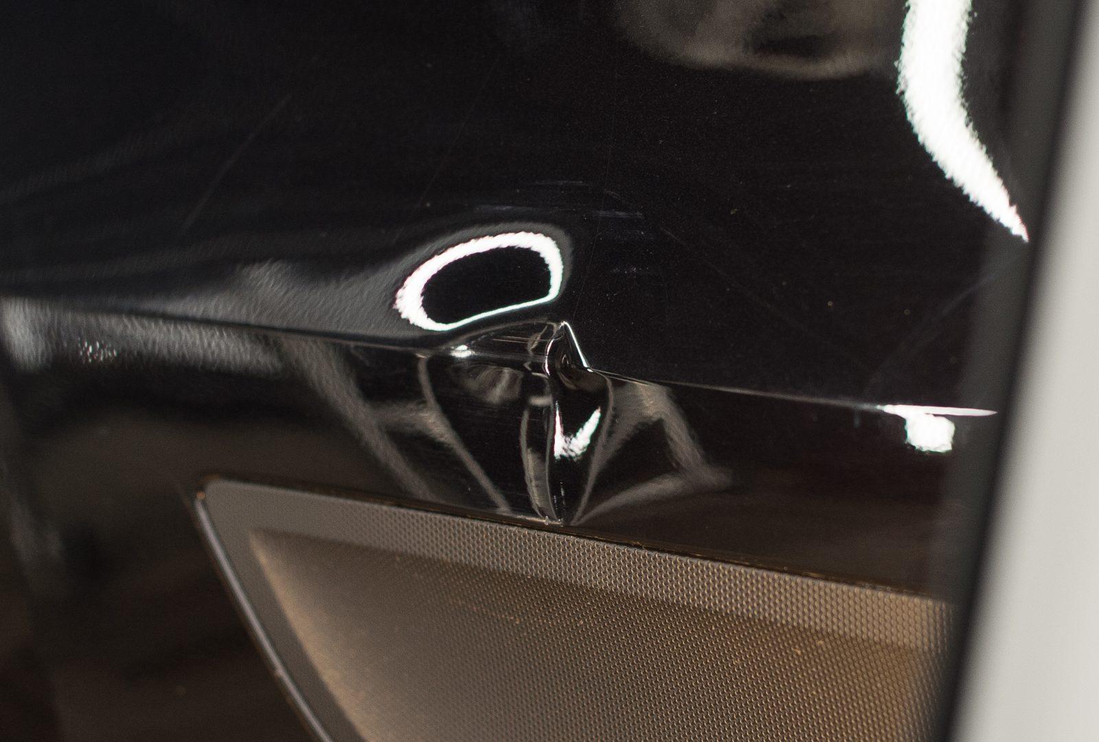 Porsche Macan удаление вмятины