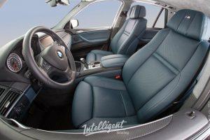 BMW X5 пошив салона