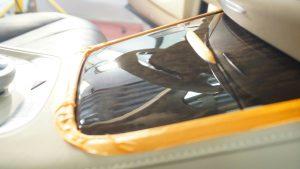 Mercedes S63 полировка вставок