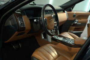Range Rover Voque - химчистка салона