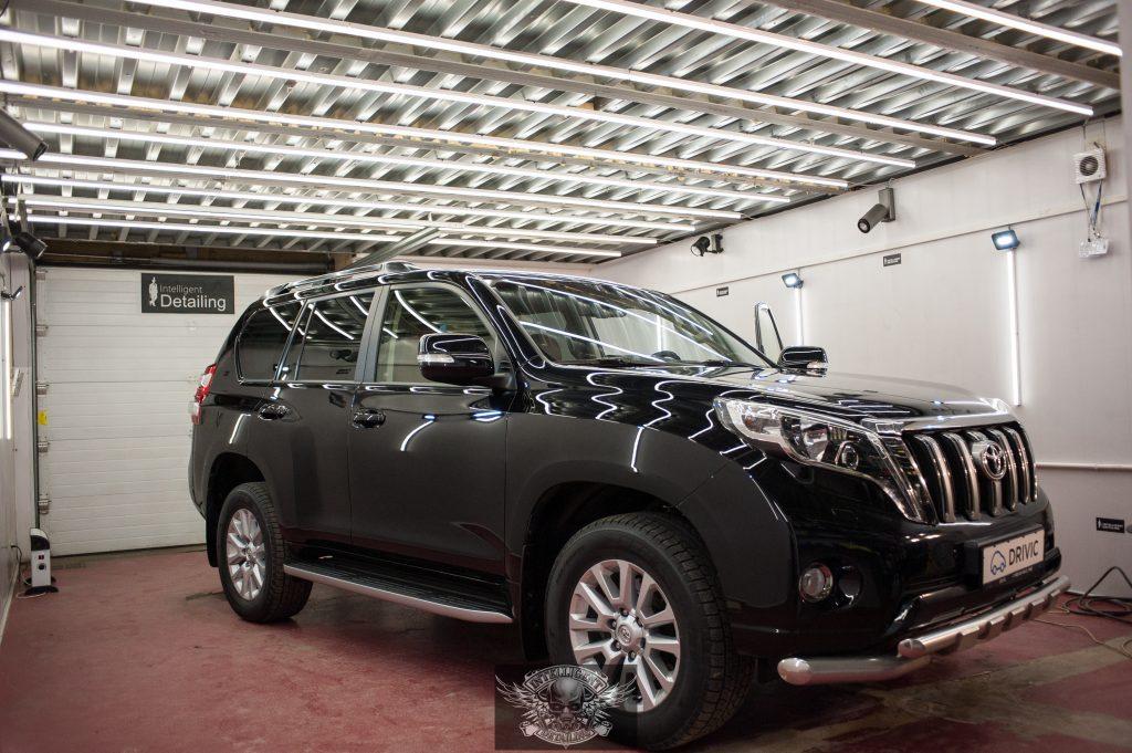 Toyota Land Cruiser Prado полировка лкп