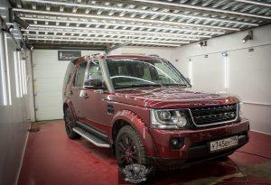 Land Rover Discovery полировка кузова