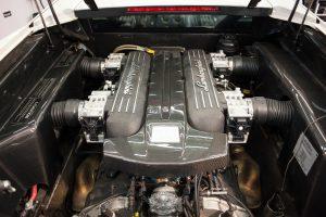 Lamborghini Murcielago - мойка мотора паром
