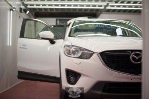 Mazda CX-5 полировка лкп