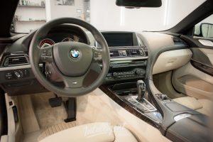 BMW 6 химчистка салона