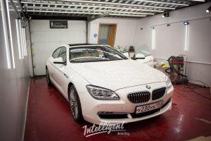 BMW 6 - полировка