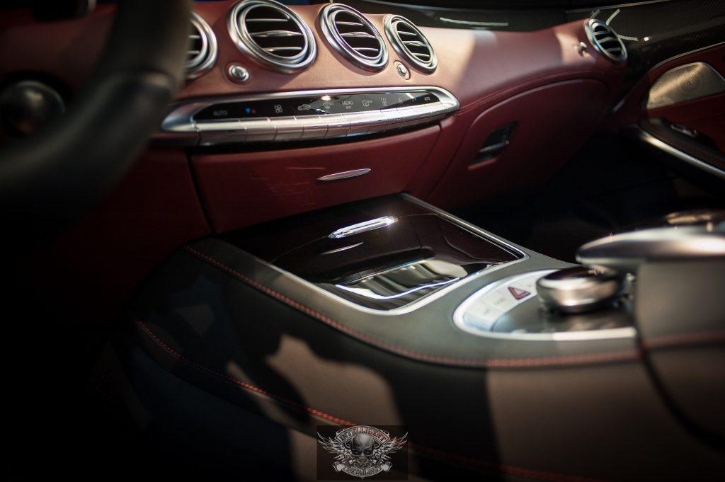 Mercedes S Brabus 850 - химчистка салона