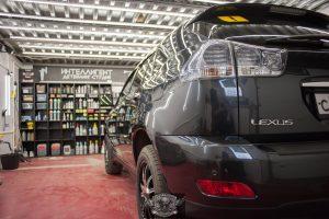 Lexus RX450 - полировка кузова и защита лкп