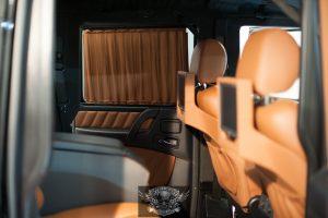 Mercedes G500 Бронированный - шторки для окон