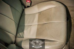 Toyota Camry химчистка салона