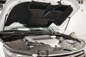 Lexus LX 450D - мойка двигателя паром