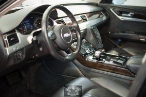 Audi A8 Бронированный VR8 химчистка салона
