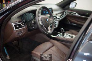 BMW 7 химчистка салона
