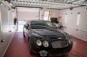 Bentley Continental GT - полировка лкп
