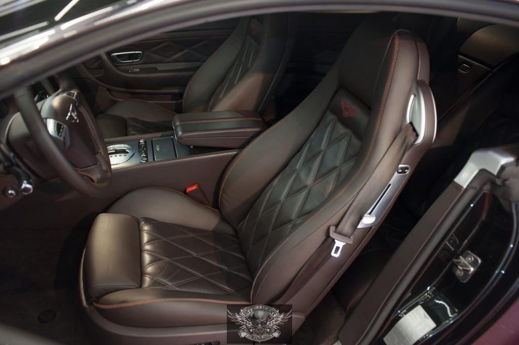 Bentley Continental GT - химчистка салона