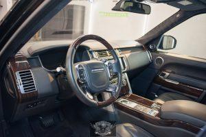 Range Rover - химчистка салона