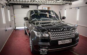 Range Rover полировка лкп