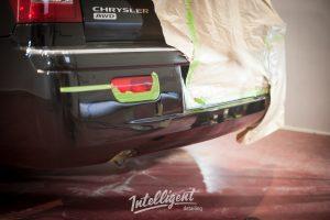 Chrysler 300c локальная покраска