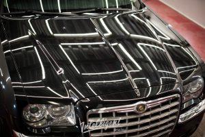 Chrysler 300с - полировка лкп