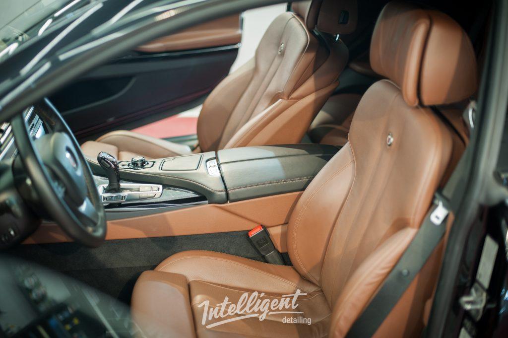 BMW 6 Alpina - химчистка салона