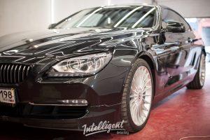 BMW 6 Alpina полировка лкп