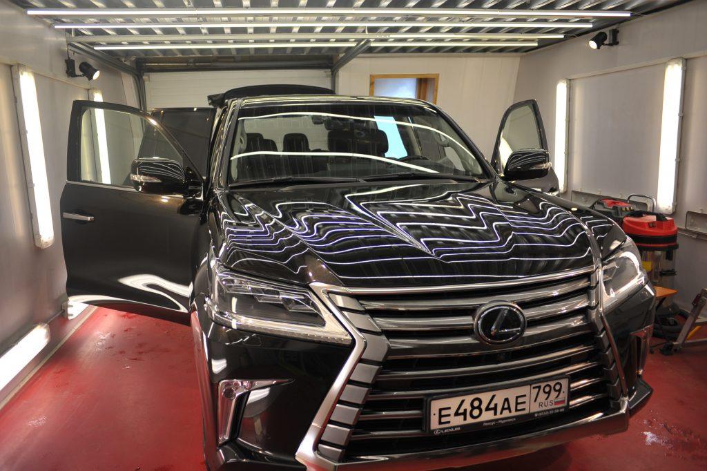 Lexus LX570 полировка лкп