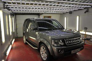 Land Rover Discovery - восковой пирог