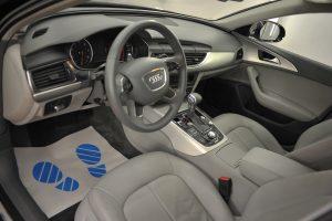 Audi A6 химчистка салона