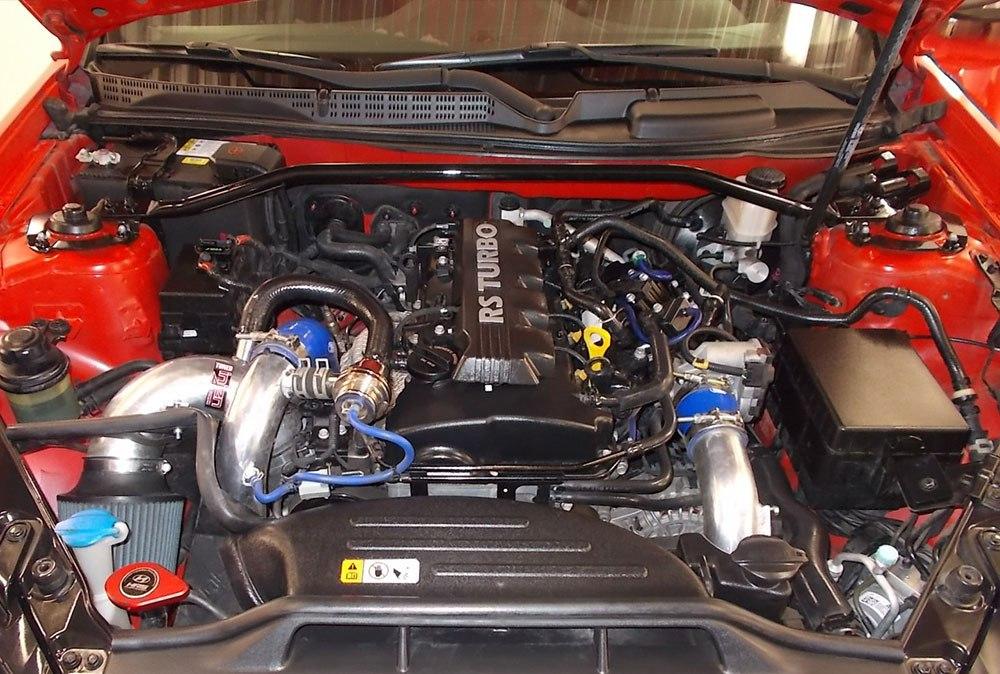 Hyundai Genesis мойка мотора