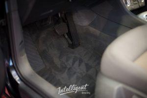 Audi Q3 химчистка салона