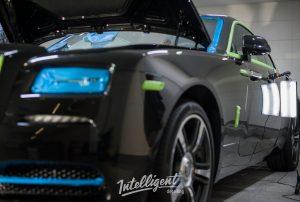 Rolls Royce Wraith выездной детейлинг