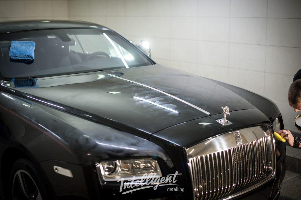 Rolls Royce Wraith - восковой пирог