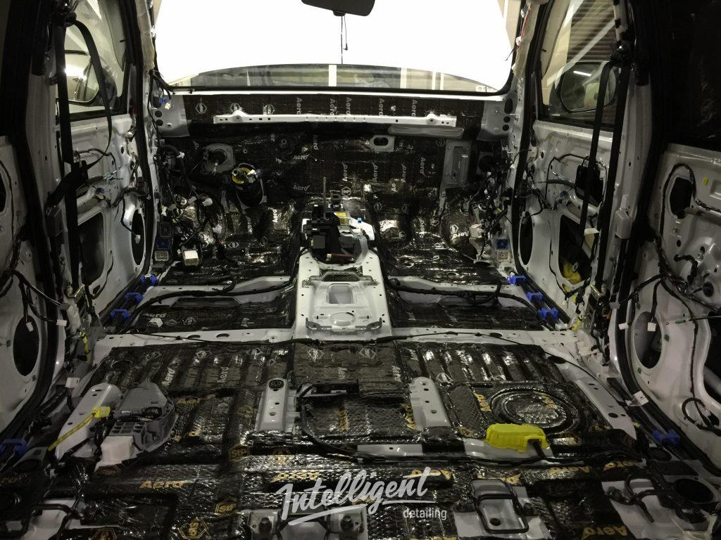 Lexus LX 570 шумоизоляция