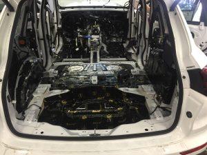 Porsche Cayenne шумоизоляция
