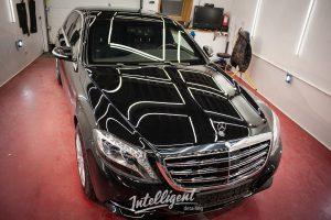 Mercedes S600 бронированный VR9 - предпродажная подготовка