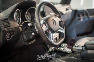 Mercedes G63 - химчистка салона