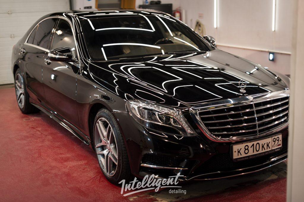 Mercedes s600 - керамика лкп 2+2