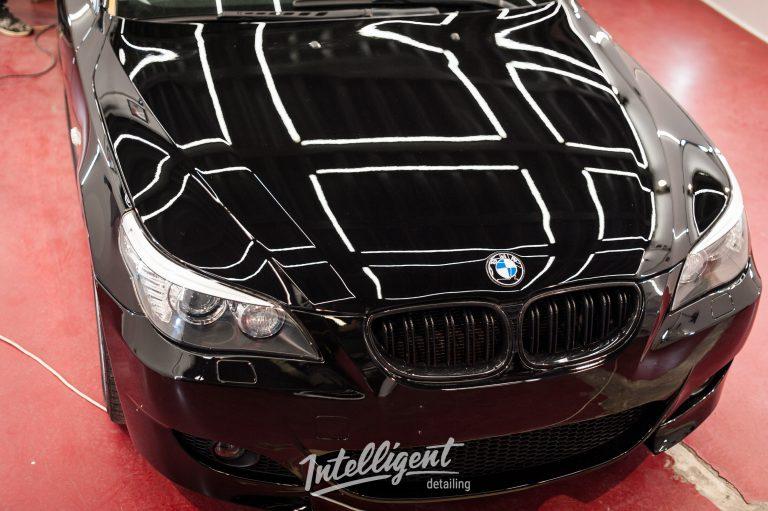 BMW 5 e60 жидкое стекло