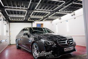 Mercedes e400 - полировка лкп кузова