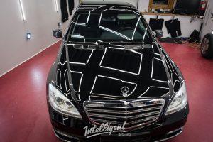 Mercedes S600 221 бронированный VR9 - предпродажная подготовка