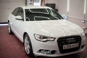 Audi A6 полировка кузова