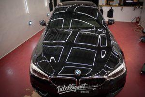 BMW 5 - полировка лкп
