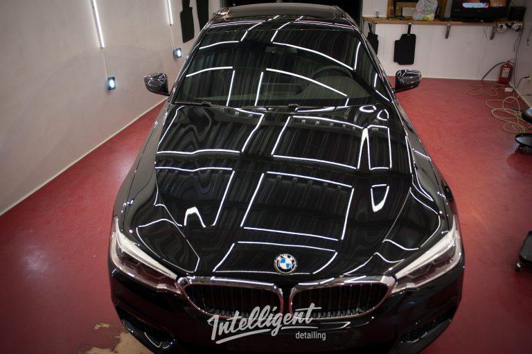 BMW 5 - керамика авто 3+1