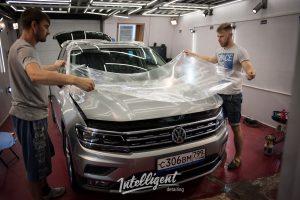Volkswagen Tiguan оклейка пленкой