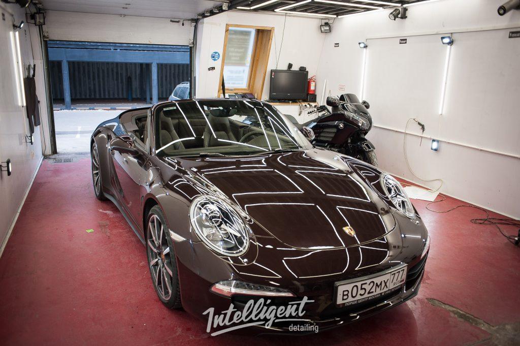 Porsche 911 полировка лкп