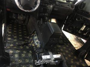 Mercedes g500 Galendwagen - шумоизоляция