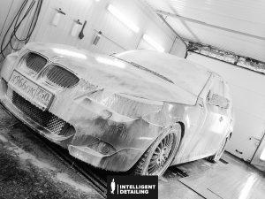 BMW 5 - комплекс мойка