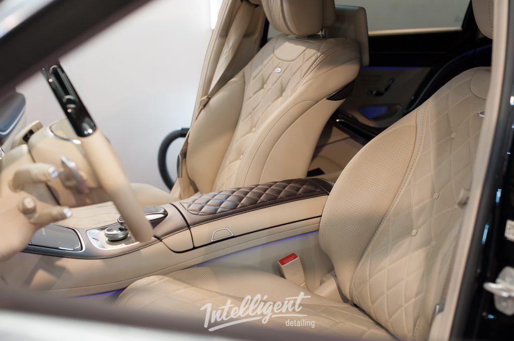 Mercedes S-classe Maybach керамика кожи салона